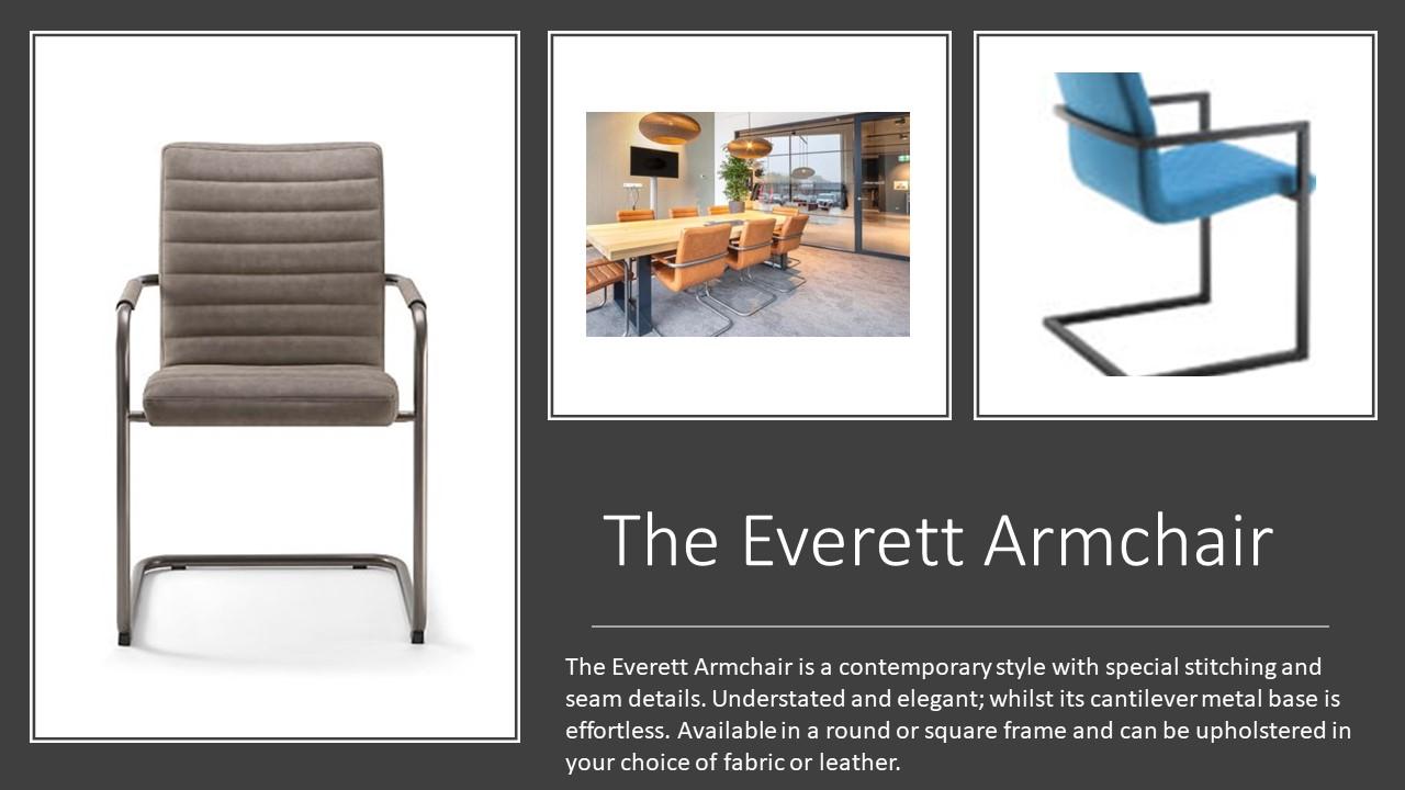 Everett AC Armchair
